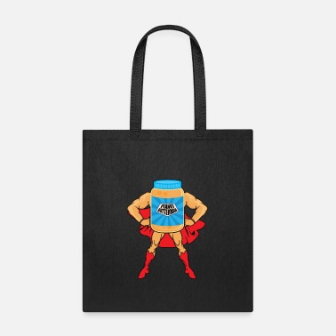 Peanut Peanut Butter Jar Funny Graphic Gift - Tote Bag