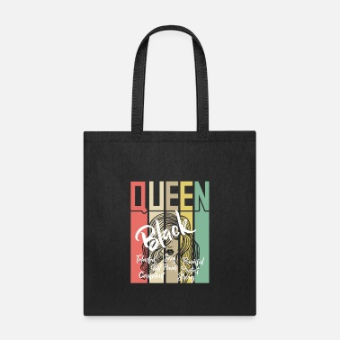 Black Black Queen Black Power - Tote Bag