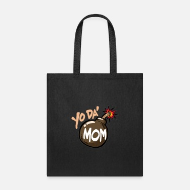 Baby Mother's Day-Yoda Mom - Tote Bag