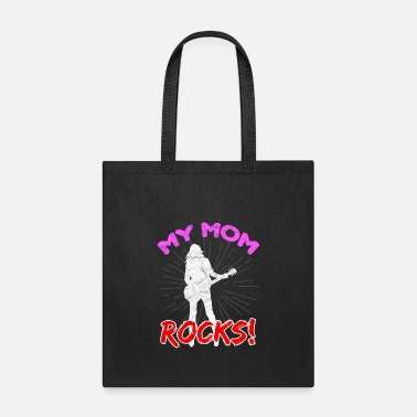 Mother's Day-My Mom Rocks - Tote Bag