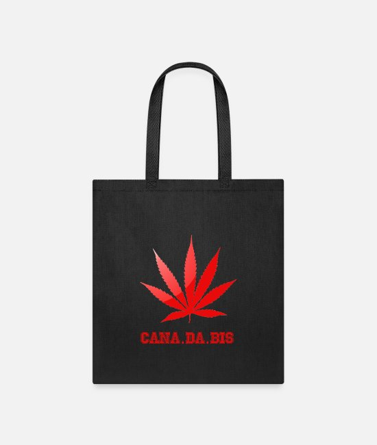 Dro Bags & Backpacks - canada cannabis - Tote Bag black