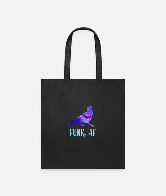 Playing Bags & Backpacks - Pigeons Playing Ping Pong Funk AF PPPP - Tote Bag black