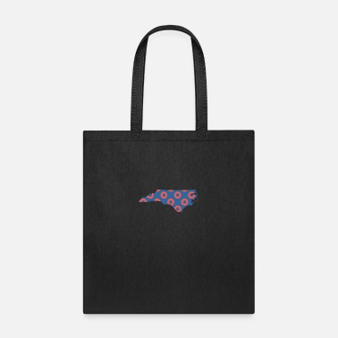 Phish North Carolina Phish Fishman Donut North Carolina Phanart - Tote Bag