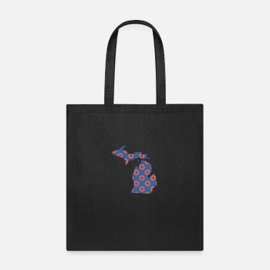 Phish Ann Arbor Phish Fishman Donut Michigan Phanart - Tote Bag