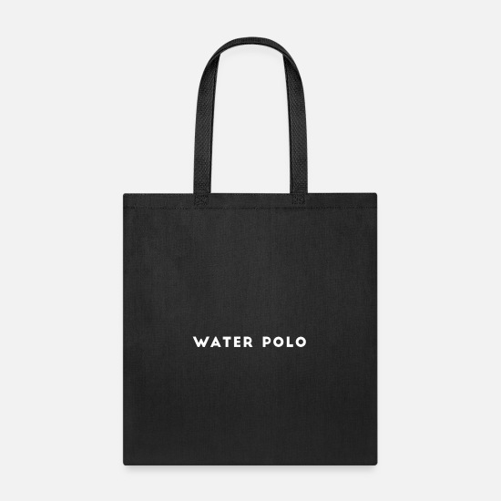 Mermaid Bags & Backpacks - Waterpolo - Tote Bag black