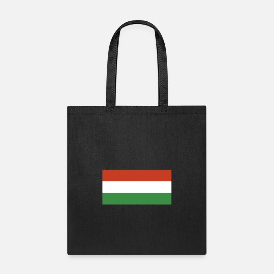 Hungary Bags & Backpacks - Flag of Hungary, Flag Hungary, Hungary flag - Tote Bag black