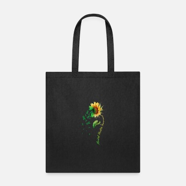 Health Mental Health Awareness Sunflower Shirt - Tote Bag