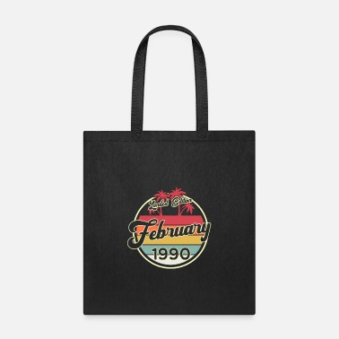 Since Vintage 80s February 1990 30th Birthday Gift Idea - Tote Bag