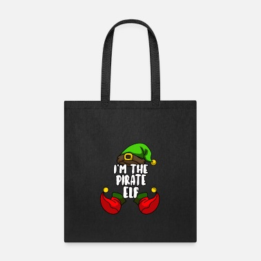 Squad Pirate Elf Matching Family Group Christmas Gift - Tote Bag