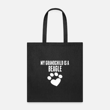 Grandchild my grandchild is a beagle 2 - Tote Bag
