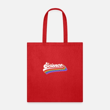Down Science Design. Retro Style Product For Teachers - Tote Bag