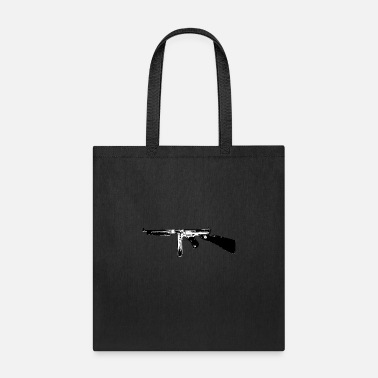 Rapid Fire Weapon Thompson Tommy Gun submachine gun - Tote Bag