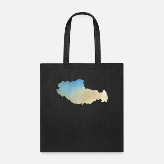 Art Bags & Backpacks - Tibet - Tote Bag black