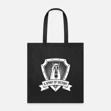 Victory A Spirit of Victory | Horse Rider - Tote Bag