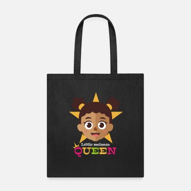 Afro Little Melanin Queen - Tote Bag