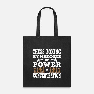 Chess Chess Boxing Symbiosis of power and concentration - Tote Bag