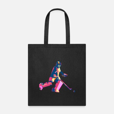Floor Ball Goalie - Tote Bag