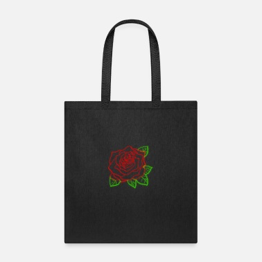 Neon Neon Rose - Tote Bag