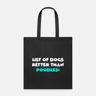 Puppy Poodle - Tote Bag