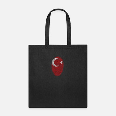 Turkish ViSam's Turkish Fingerprint - Tote Bag