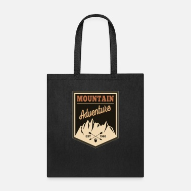 Montains montain adventure - Tote Bag