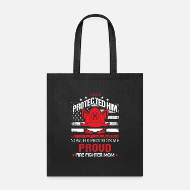 Proud Firefighter Mom - Tote Bag