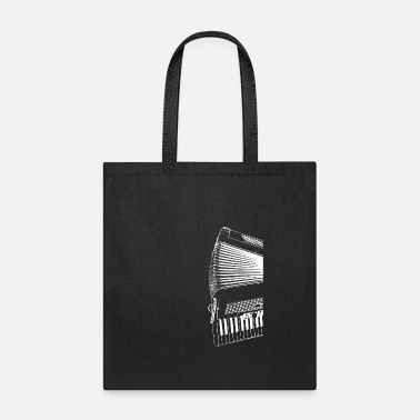 Playing Accordion Gift Accordion Musician - Tote Bag
