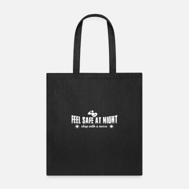 Naughty Funny Naughty Kinky Gift Slee With a Nurse Meme Quote - Tote Bag
