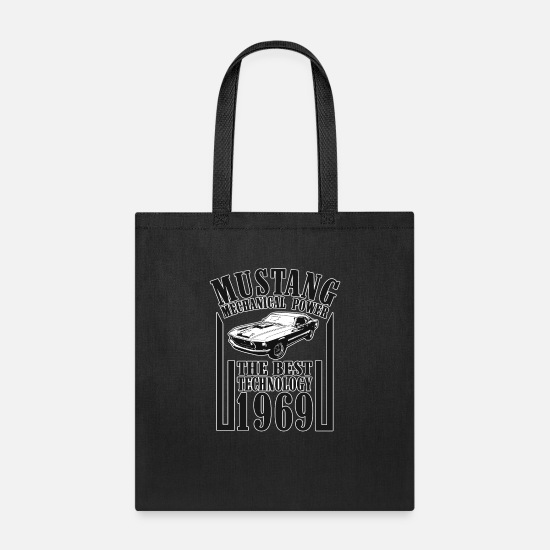 New World Order Bags & Backpacks - new mustang 10 - Tote Bag black