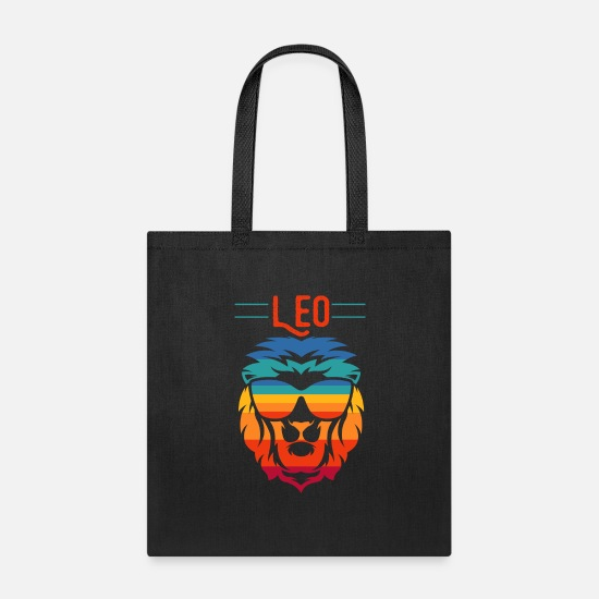 Symbol  Bags & Backpacks - Leo Zodiac - Tote Bag black
