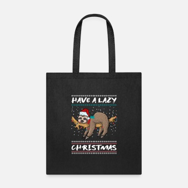 Trend Animal Funny sloth trend animal Christmas - Tote Bag