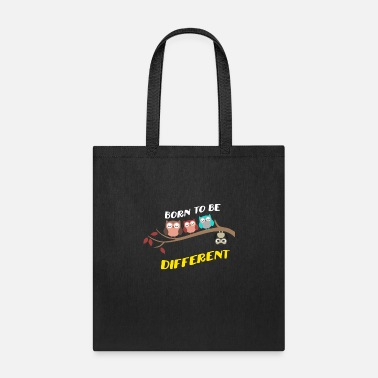 Different Born To Be Different World Autism Awareness Day - Tote Bag
