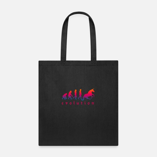 Magic Bags & Backpacks - Horse Magical Creature Magic Fantasy Rainbow - Tote Bag black