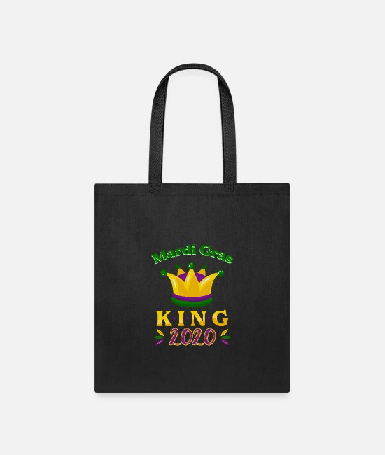 Festival Bags & Backpacks - Mardi Gras King Street Party Carnival Gift - Tote Bag black