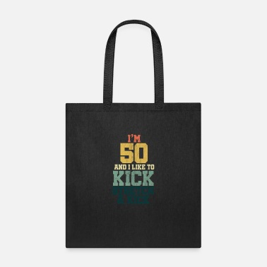 Year Of Birth 50th Birthday Gift for Men And Women I'm 50 And I - Tote Bag