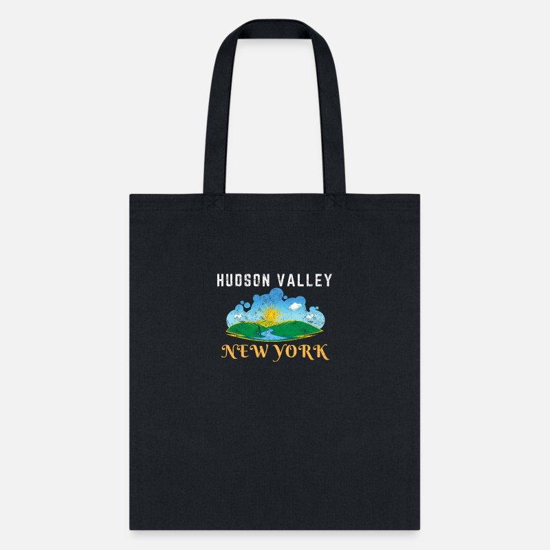 Hudson Valley New York Dutchess Putnam Tote Bag - navy