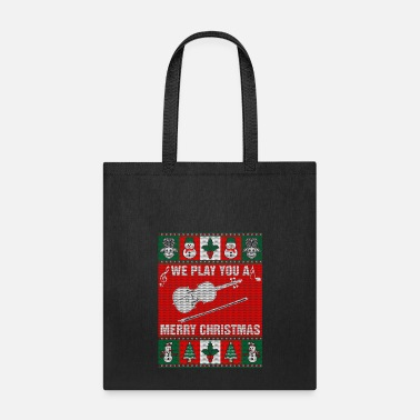 Violin You Play You A Violin Merry Christmas - Tote Bag