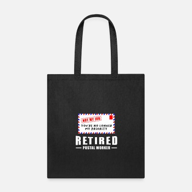 Worker Retirement Post Office Retired Postal Worker Gift - Tote Bag