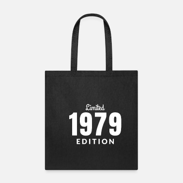 Date Of Birth Born 1979 year of birth gift present birthday date - Tote Bag
