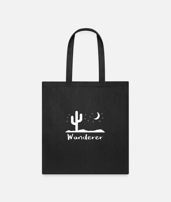 Geek Bags & Backpacks - Wanderer - Tote Bag black