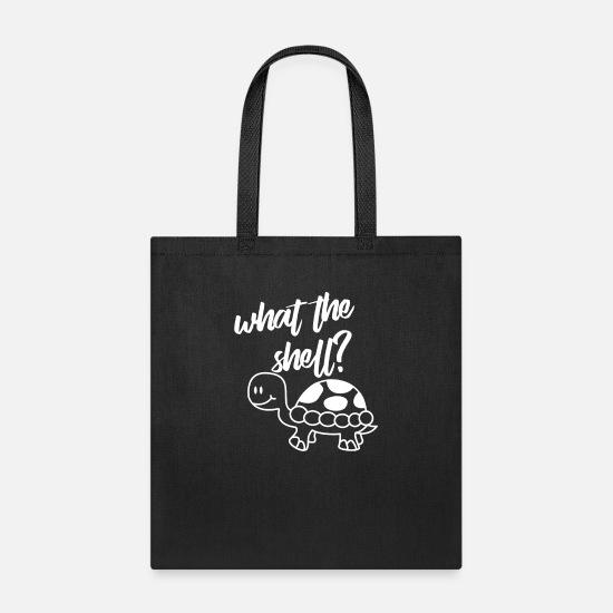 Shell Bags & Backpacks - What The Shell - Tote Bag black