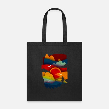 Illustration The Wild Sun - Tote Bag