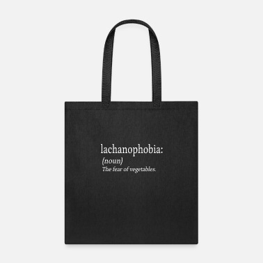 Psychotherapy Lachanophobia Fear Vegetables Anxiety Gift - Tote Bag