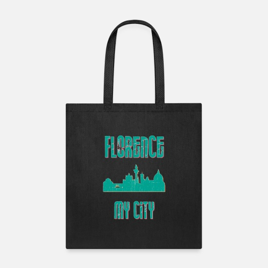 Machine Bags & Backpacks - Florence MY CITY - Tote Bag black