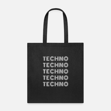 Dortmund Techno techno white - Tote Bag