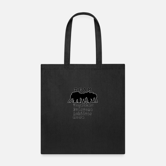 Football Bags & Backpacks - Football Team Player - Tote Bag black