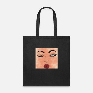 Wink If You Want Me - Tote Bag
