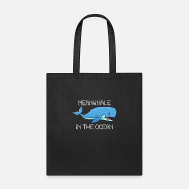 Atlantis Whale humor | Meanwhile in the ocean. - Tote Bag