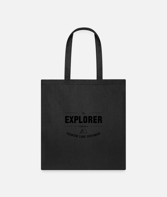 Hay Bags & Backpacks - The Explorer Collection - Tote Bag black