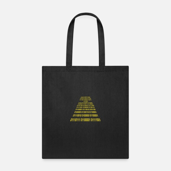 Binary Bags & Backpacks - Binary Wars - Tote Bag black